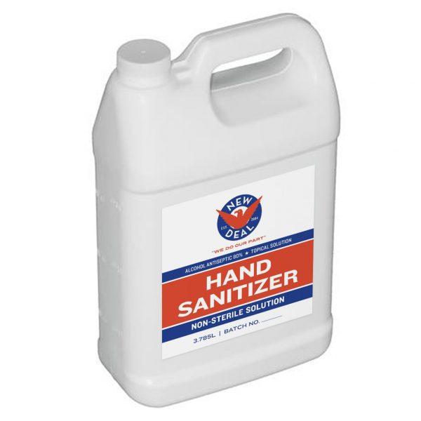 New Deal Hand Sanitizer